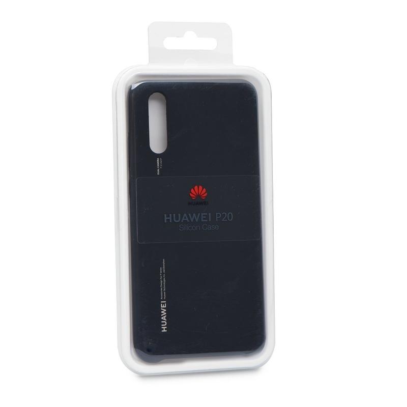 Husa Originala Huawei P20 Silicon Cover - Negru