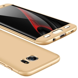 Husa Samsung Galaxy S7 Edge GKK 360 Full Cover Gold