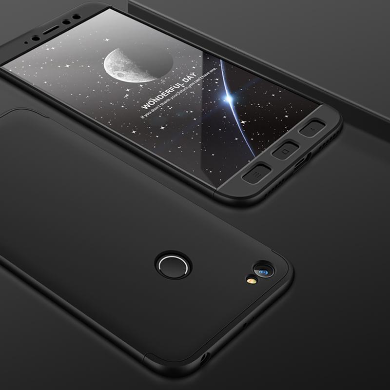 Husa Xiaomi Redmi Note 5A GKK 360 Full Cover Negru