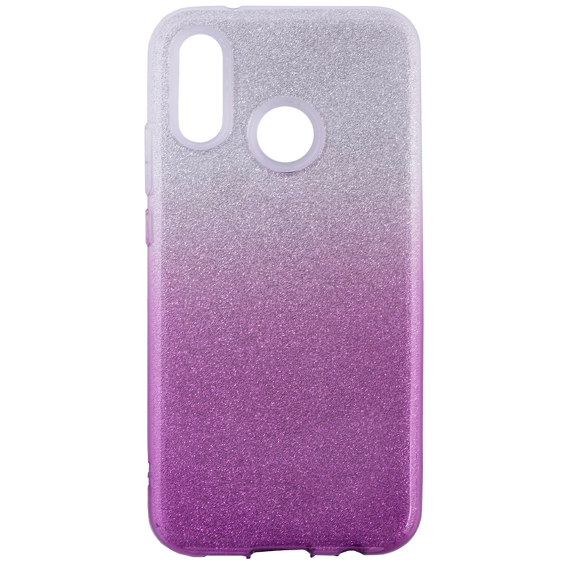 Husa Huawei P20 Lite Gradient Color TPU Sclipici - Mov