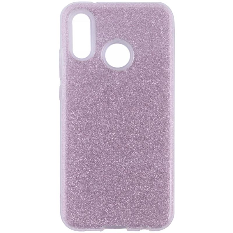 Husa Huawei P20 Lite Color TPU Sclipici - Roz