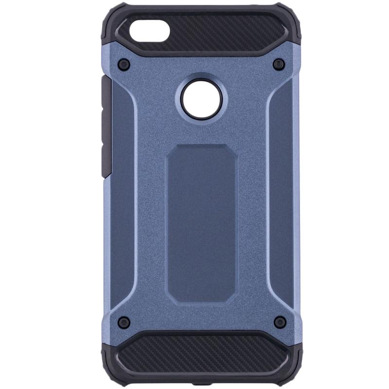 Husa Xiaomi Redmi Note 5A Mobster Hybrid Armor - Albastru