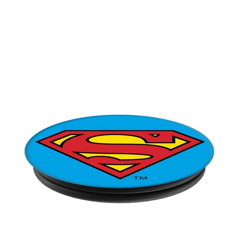 Popsockets Original, Suport Cu Functii Multiple - Superman Icon
