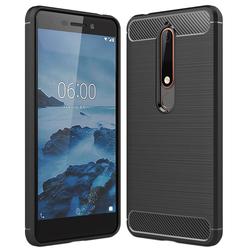 Husa Nokia 6.1 2018 TPU Carbon Negru