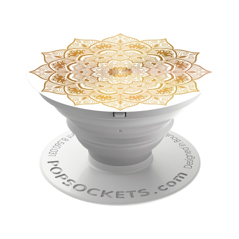 Popsockets Original, Suport Cu Functii Multiple - Golden Silence