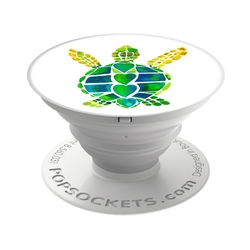 Popsockets Original, Suport Cu Functii Multiple - Turtle Love