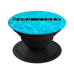 Popsockets Original, Suport Cu Functii Multiple - Good Vibes