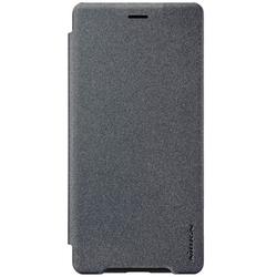 Husa Sony Xperia XZ2 Compact NILLKIN Sparkle Flip Gri