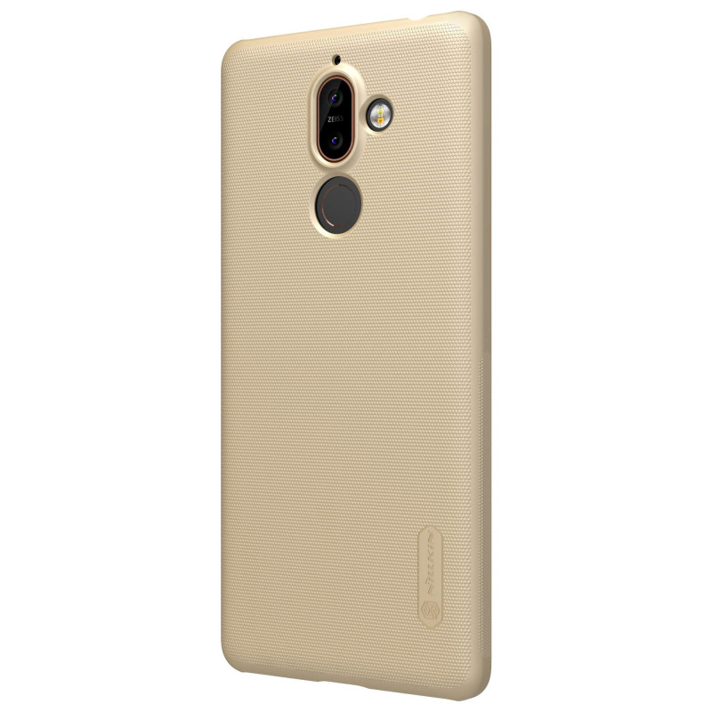 Husa Nokia 7 Plus Nillkin Frosted Gold