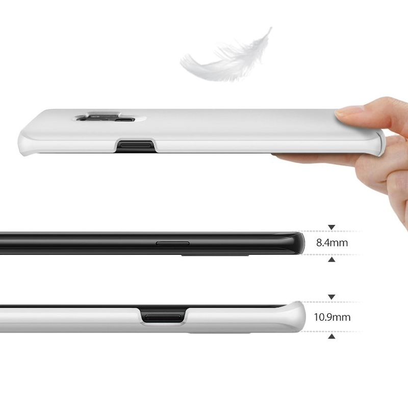 Husa Samsung Galaxy S9 Ringke Slim - Frost White