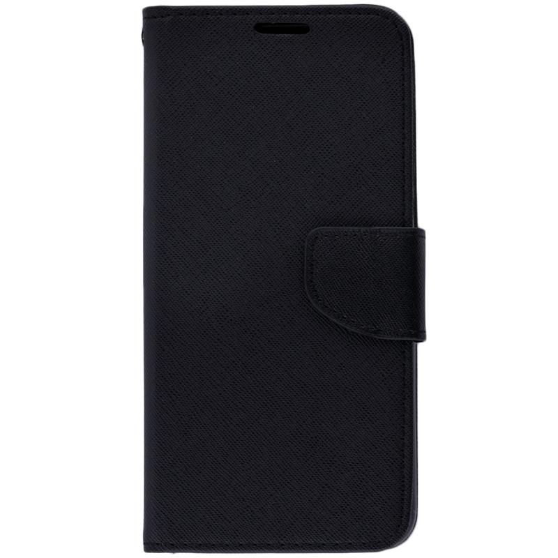 Husa Samsung Galaxy A6 Plus 2018 Flip Negru MyFancy