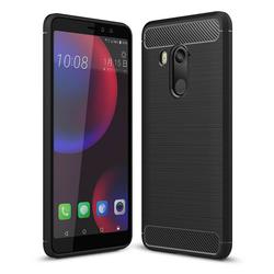 Husa HTC U11 Eyes TPU Carbon Negru
