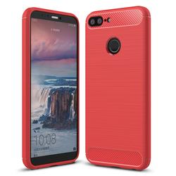 Husa Huawei Honor 9 Lite TPU Carbon Rosu